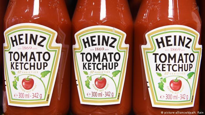 Fusion: Firma Kraft Heinz zu Unilever - Ketchup Flaschen
