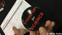 USA Boston - AAAS Meeting: Stand up for Science