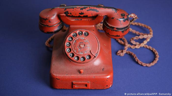 Hitler's supposed telephone (picture-alliance/dpa/AP/P. Semansky)