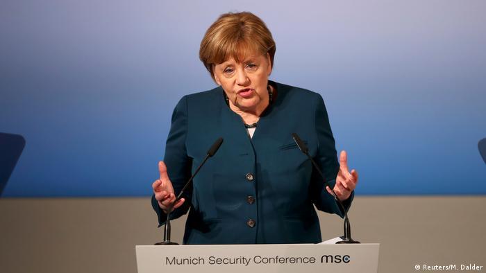 Deutschland Münchner Sicherheitskonferenz 2017 (Reuters/M. Dalder)