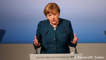 Την ανάγκη πολυμερούς συνεργασίας για την αντιμετώπισης των παγκόσμιων προκλήσεων υπογράμμισε η Άγκελα Μέρκελ