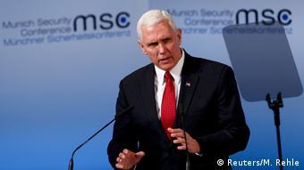 Το αίτημα των ΗΠΑ για μεγαλύτερη συνεισφορά της Ευρώπης στο ΝΑΤΟ επανέλαβε ο Μαικ Πενς