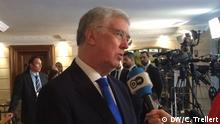 Michael Fallon im DW Interview