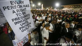 Philippinen Proteste in Manila