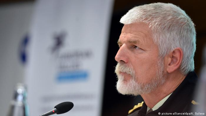 Голова Військового комітету НАТО генерал Петр Павел