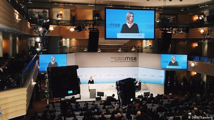 Deutschland Münchner Sicherheitskonferenz 2017 Federica Mogherini (DW/L. Sanders)