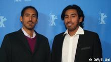 Los cineastas peruanos Diego y Álvaro Sarmiento.
