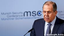 Münchner Sicherheitskonferenz 2017 | Sergej Lawrow, Außenminister Russland