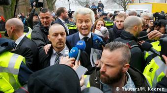 Niederlande | Geert Wilders auf Wahlkampfveranstaltung