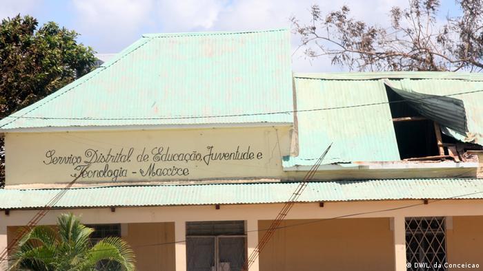 Mosambik Sturm Dineo (DW/L. da Conceicao)