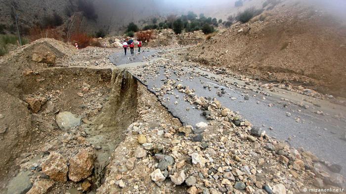 Iran Hochwasser in Fars Provinzen (mizanonline.ir)