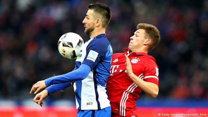 1. Bundesliga 21. Spieltag | Hertha BSC vs. FC Bayern München (Getty Images/Bongarts/M. Rose)