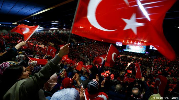 Deutschland Türkei Oberhausen Auftritt Ministerpräsident Binali Yildirim