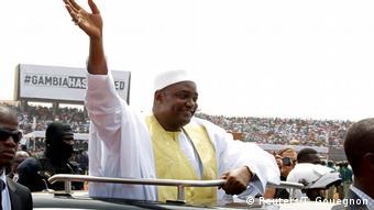 Gambia Präsident Adama Barrow   Amtsübernahme & Einweihungszeremonie in Bakau