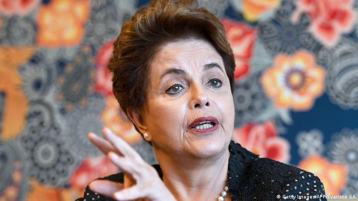 Brasilien | Ex-Präsidentin Rousseff im Interview mit AFP (Getty Images/AFP/Evaristo SA)