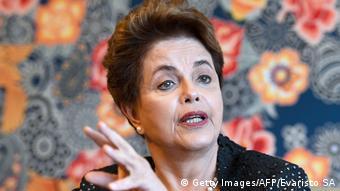 La expresidenta Dilma Rousseff.