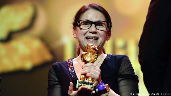 Berlinale   Abschluss und Verleihung der Bären   Preisträger Goldener Bär Ildikó Enyedi