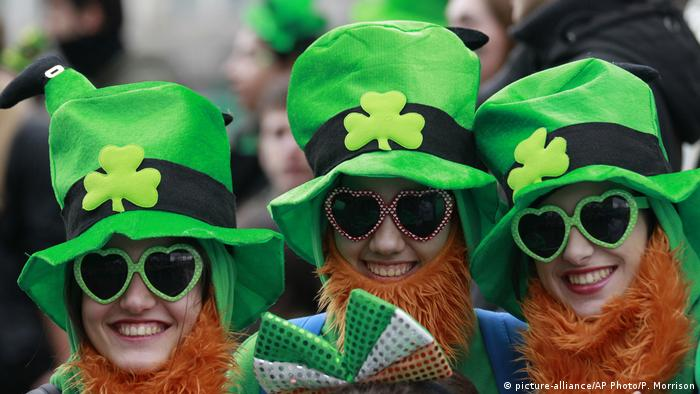 Ireland St. Patrick's Day Parade in Dublin (picture-alliance/AP Photo/P. Morrison)