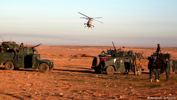 伊拉克政府军打响收复摩苏尔城西大战役