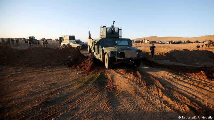 Iraque lança ofensiva para retomar oeste de Mossul