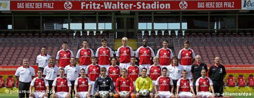 Momčad Kaiserslauterna u tekućoj sezoni