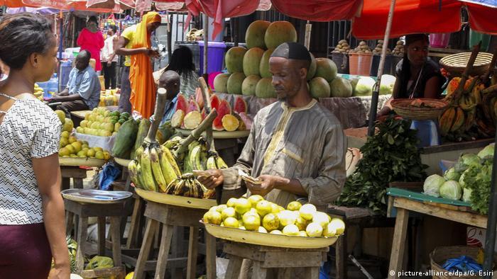 Nigeria Abuja Markt in Gwarinpa