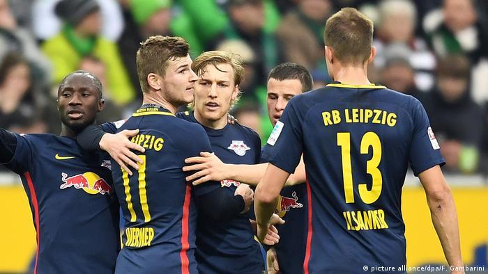 Deutschland Borussia Mönchengladbach and RB Leipzig