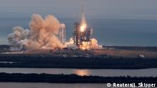 USA Start SpaceX Falcon 9 Rakete in Cape Canaveral