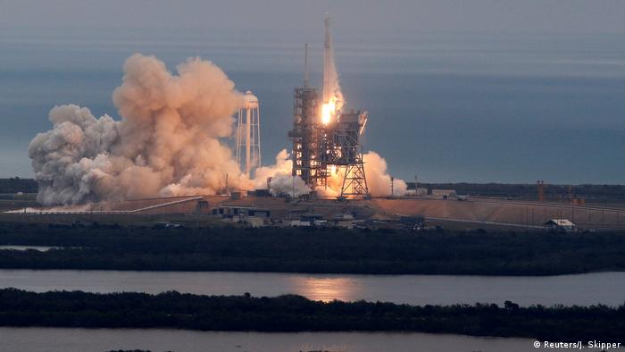 USA Start SpaceX Falcon 9 Rakete in Cape Canaveral (Reuters/J. Skipper)