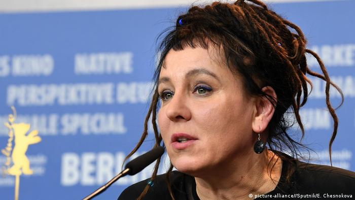 Olga Tokarczuk, polnische Schriftstellerin (picture-alliance//Sputnik/E. Chesnokova)