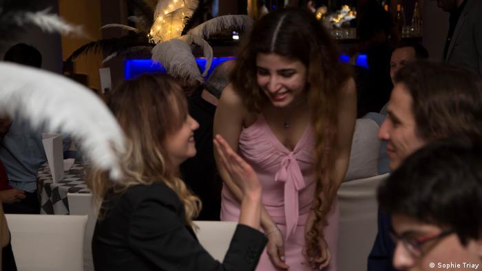 Iran Dorsa Derakhshani beim Gibraltar-Chess-Kongress 2017 (Sophie Triay)