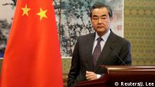 China Außenminister Wang Yi in Peking