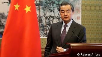 China Außenminister Wang Yi in Peking (Reuters/J. Lee)