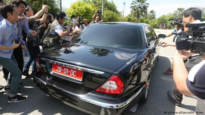 Malaysia Auto des nordkoreanischen Botschafters (picture-alliance/AP Photo)