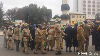 Äthiopien Gedenken 80. Märtyrertag in Addis Abeba
