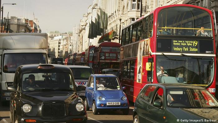 London Verkehrschaos Stau (Getty Images/S.Barbour)