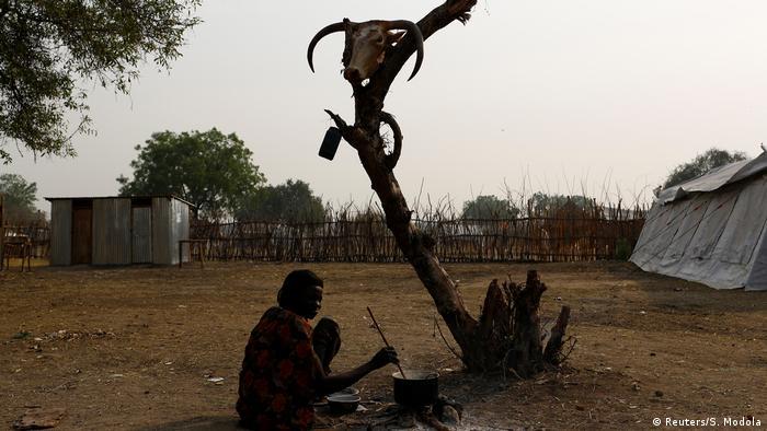 Güney Sudan kuraklıktan etkilenen bölgeler arasında.