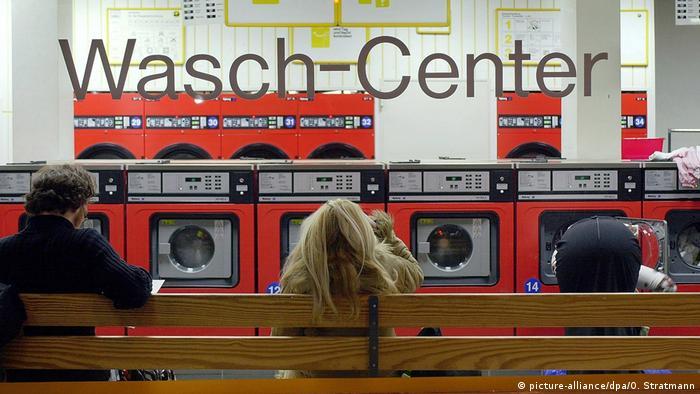 Salón de lavado.