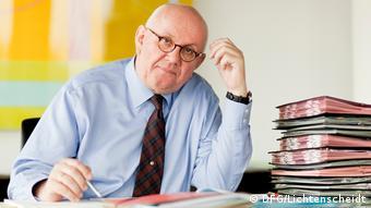 O cientista alemão Peter Strohschneider