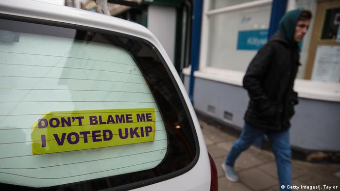 England Brexit bumper sticker