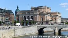 Schweden Stockholm Nationaloper Altstadt