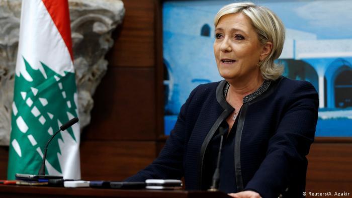 Libanon Marine Le Pen zu Besuch (Reuters/A. Azakir)