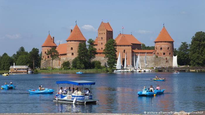 Litauen Wasserburg Trakai (picture-alliance/Bildagentur-online/AGF)