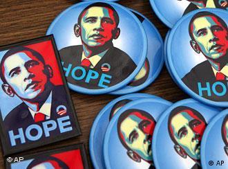Botones de la campaña demócrata.
