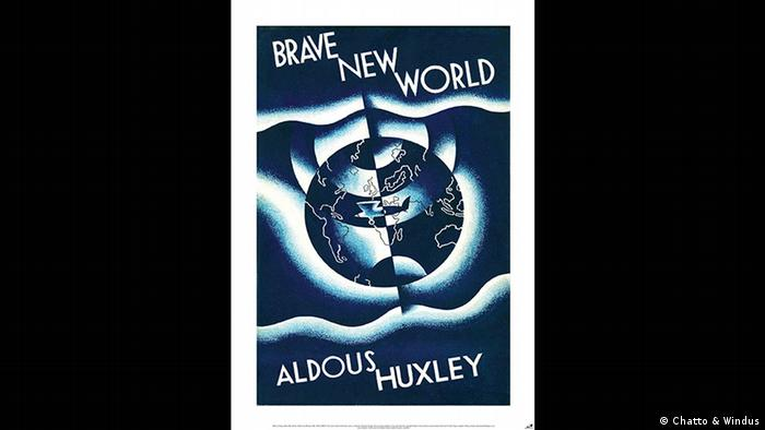 Buchcover Aldous Huxley Brave New World (Chatto & Windus)