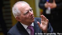 Brüssel Treffen der EU-Finanzminister