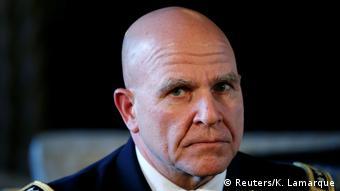 Us-Präsident Trump ernennt Generalleutnant H.R. McMaster zum Nationalen Sicherheitsberater (Reuters/K. Lamarque)