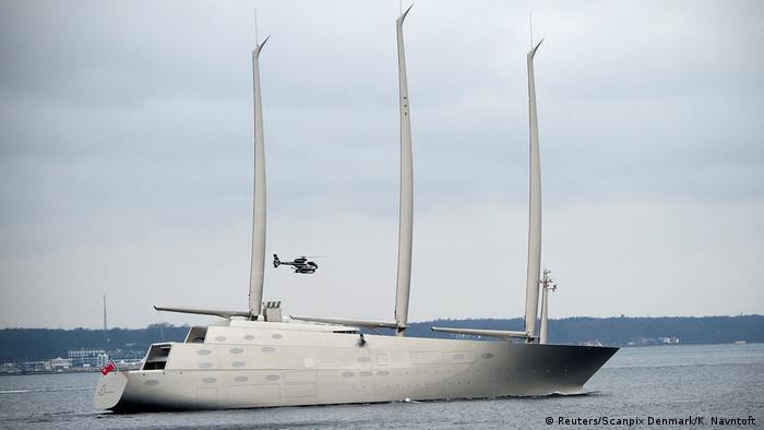 Яхта Sailing Yacht A