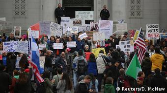 USA Proteste gegen Donald Trump in Los Angeles