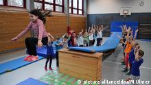 Schulsport Grundschule im Aischbach in Tuebingen Integration
